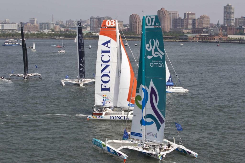 The KRYS Ocean Race Start (Photo by Lloyd Images)
