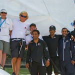 Oman Sail Crew and Guests on Musandam (Photo by Donna Erichsen)