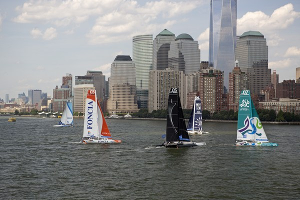 Krys Ocean Race for Multi One Design 70s prolog race from Newport To New York, NY. Finish in New York.