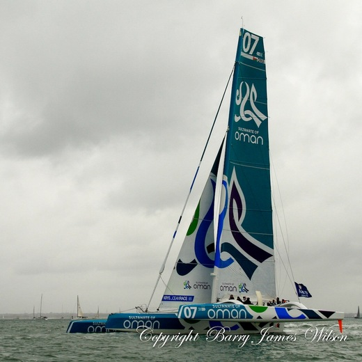 Oman Sail at Cowes 2012 (Photo by  Barry James Wilson )