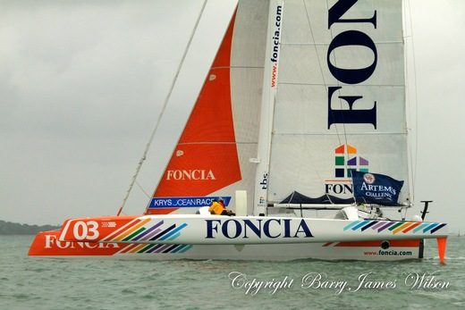 Foncia at Cowes 2012 (Photo by Barry James Wilson)