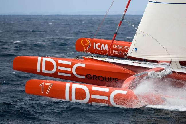 Francis Joyon IDEC  (Photo by Jean-Marie Liot /DPPI /IDEC)