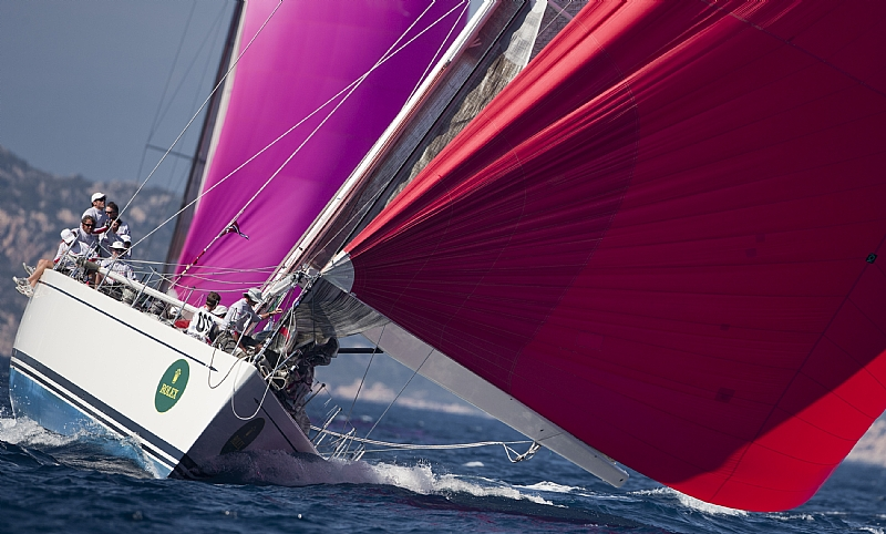 Ginger Swan 70 (Photo by Rolex / Carlo Borlenghi)