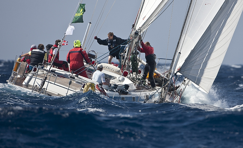 RITA Swan 55 (Photo by Rolex / Carlo Borlenghi)