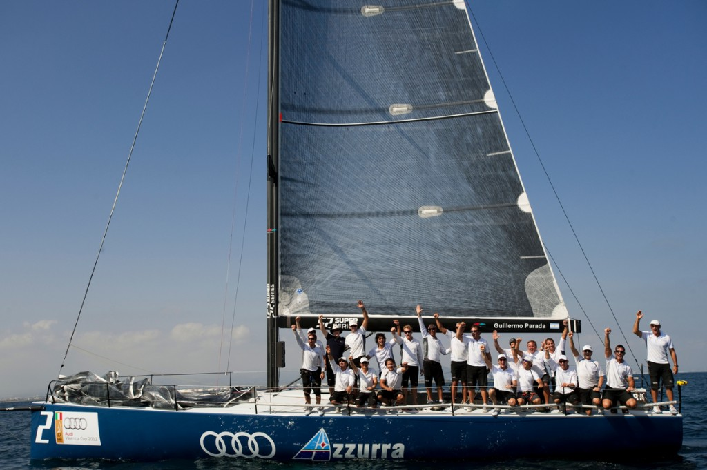 Team Azzurra Win Valencia Cup  (Photo by Xaume Olleros/52 Superseries)