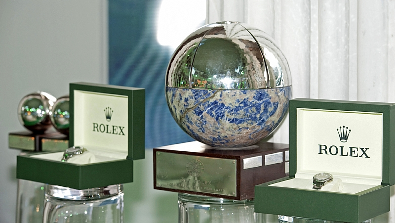 ISAF ROLEX WORLD SAILOR OF THE YEAR TROPHY and Prizes by Daniel Forster