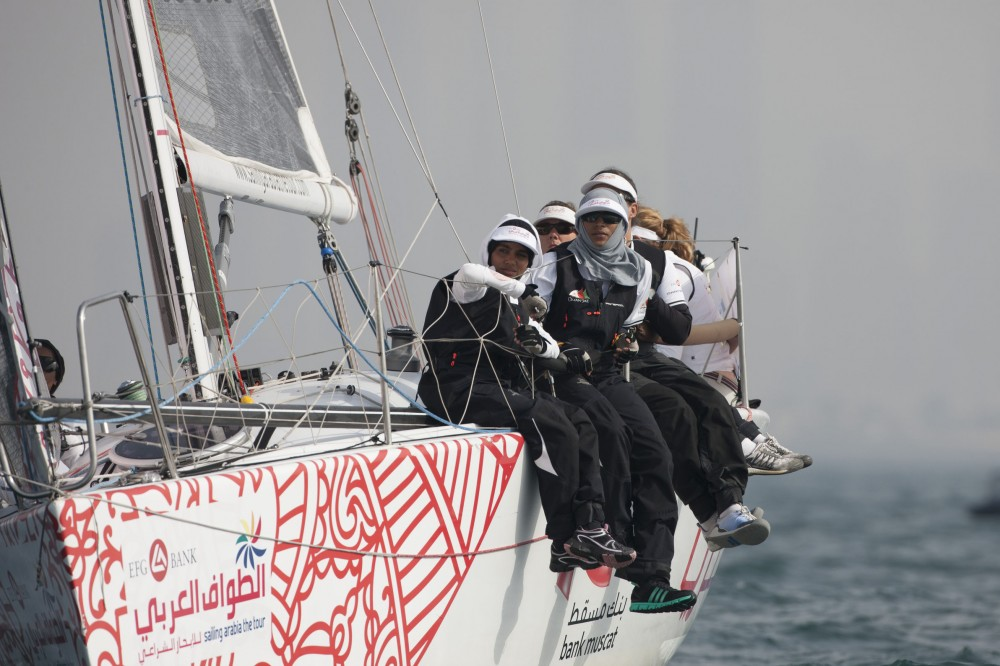 EFG Bank - Sailing Arabia The Tour 2013. (Photo by Lloyd Images)