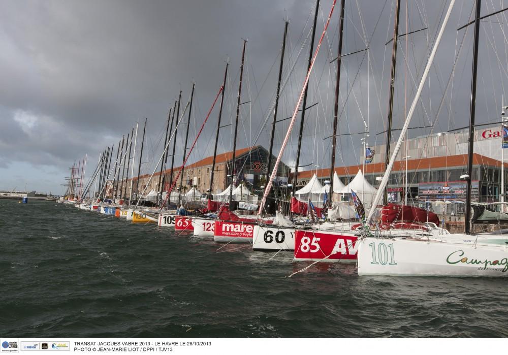 Transat Jacques Vabre Le Havre  Jean-Marie Liot  DPPI TJV13