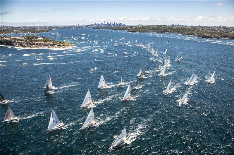 Rolex Sydney Hobart Start 2013 by Daniel Forster