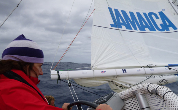CV31, Leg 4, Race 5, Day 5 - Jenn Hill