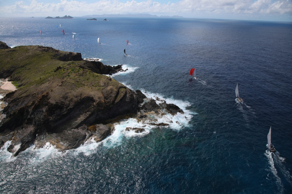 Les Voiles de Saint Barth 2013 - race day 4 (Photo by TIm Wright)
