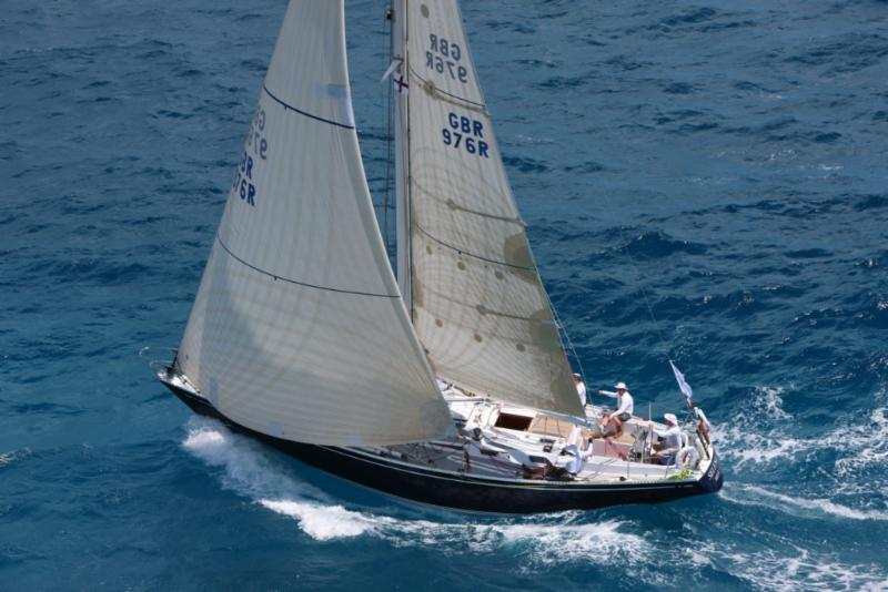Adrian Lower's Swan 44, Selene: Photo by RORC Caribbean 600/Tim Wright/photoaction.com