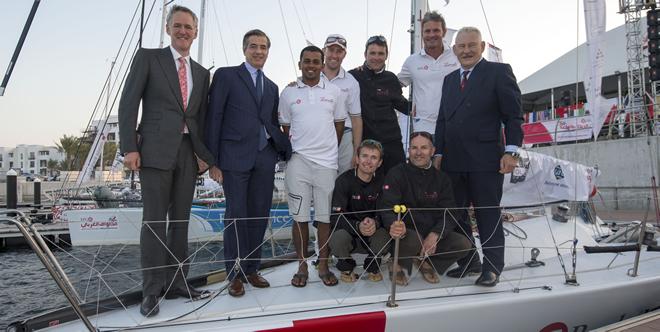 EFG Bank Champions, Sidney Gavignet and Oman Sail Crew