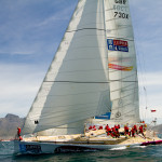 Andrew Taylor from the UK rescued after falling overboard in Pacific Ocean during Clipper Round the World Yacht Race