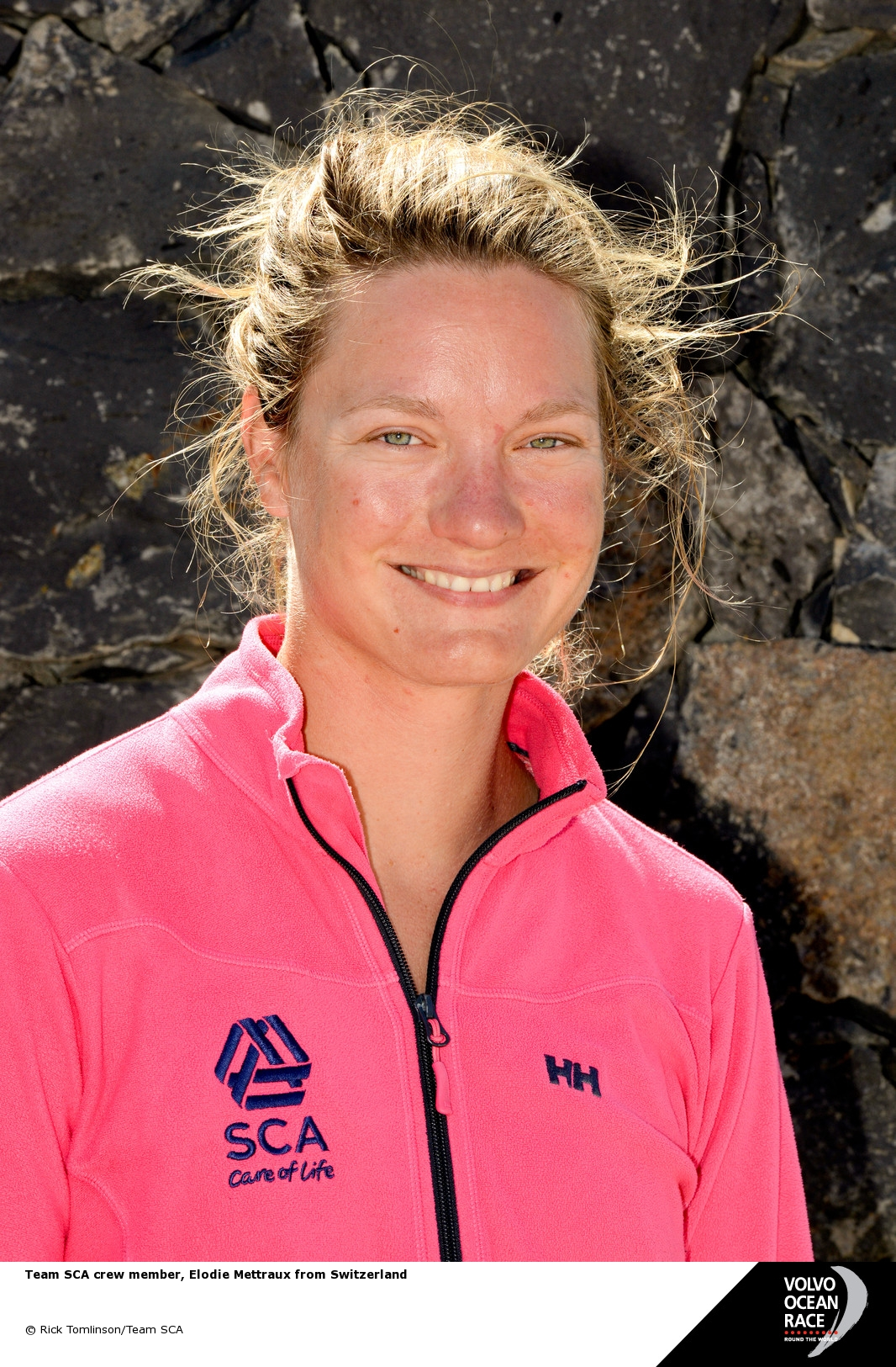 Elodie Mettraux SCA Crew Member by Rick Tomlinson/SCA/Volvo Ocean Race