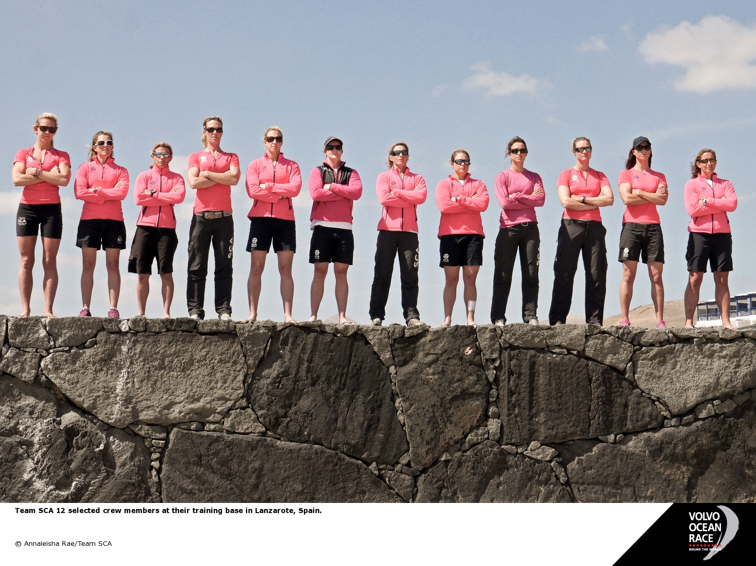 Volvo Ocean Race Team SCA  (Photo by Annaleisha Rae/SCA)
