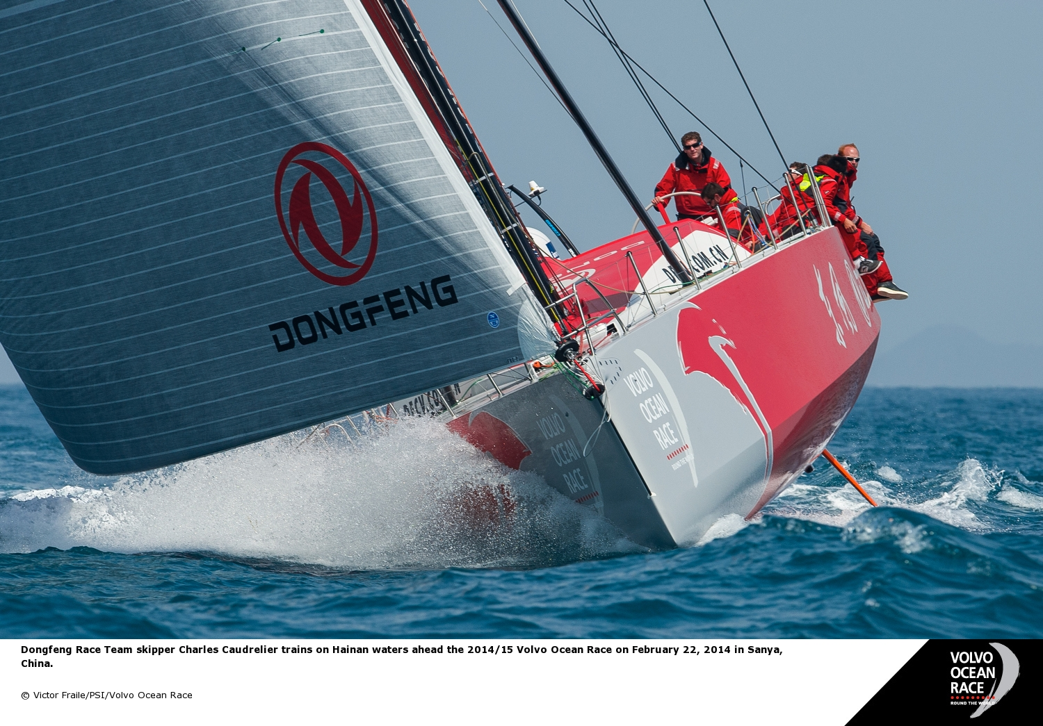 Sailing Team Dongfeng (Photo by Victor Fraile/PSI/Volvo Ocean Race)