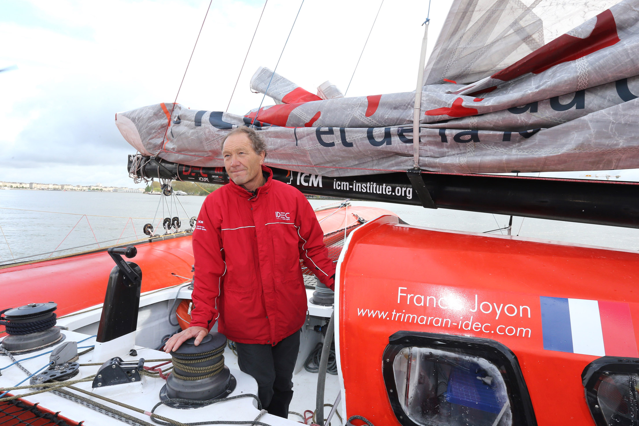 SAILING - NEW FRANCE BRAZIL RECORD FOR IDEC