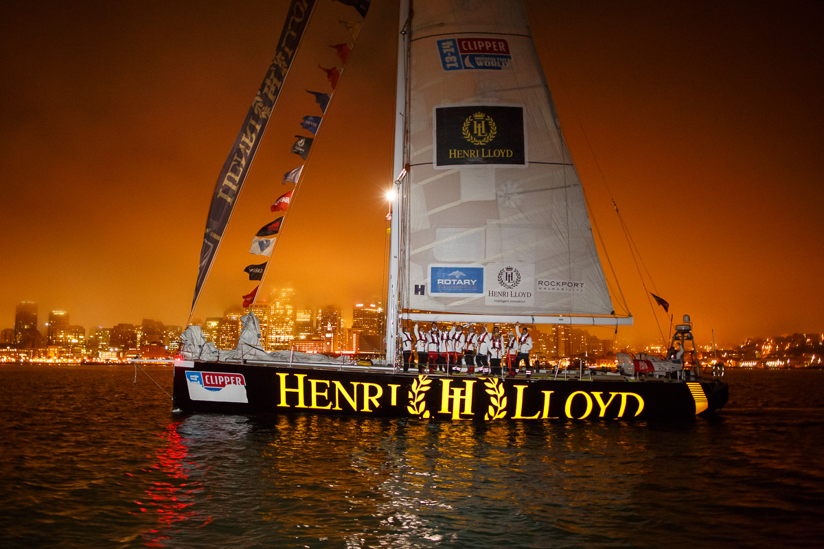 Henri Lloyd arrives into San Francisco