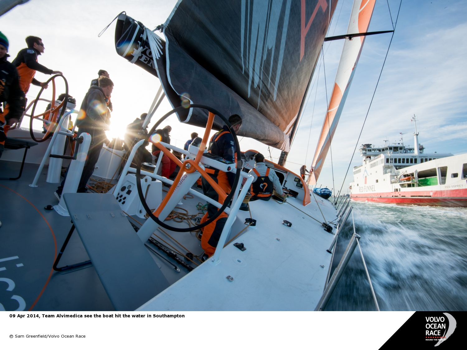 Photo by Sam Greenfield / Volvo Ocean Race
