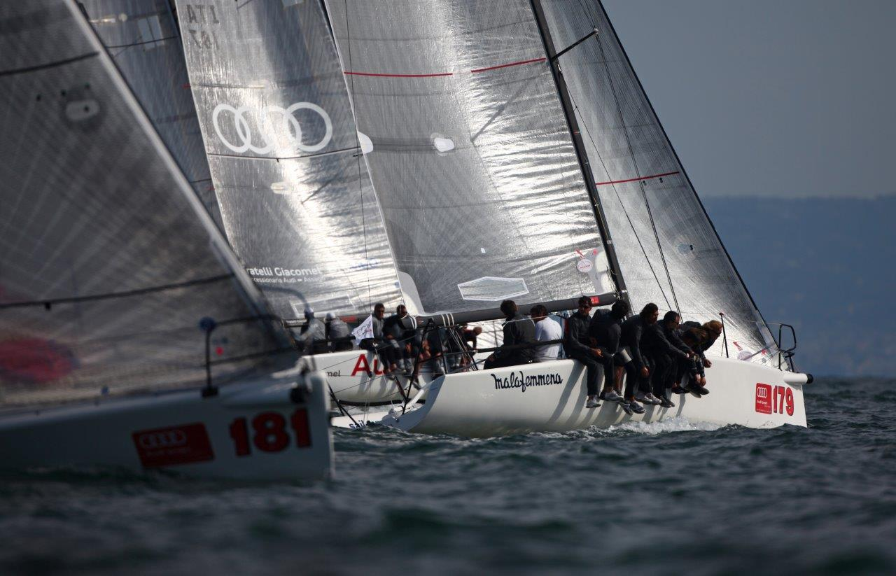 Audi melges 32 napoli  2014. Naples, Italy (Photo by Max Ranchi )