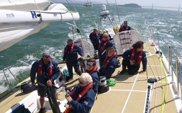PSP Logistics San Francisco to Panama 100 Race start  leg 7 Race 11
