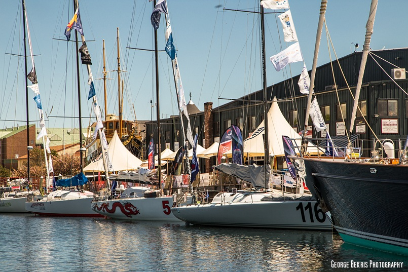 Atlantic Cup Fleet 2014 at Newport Shipyard by George Bekris