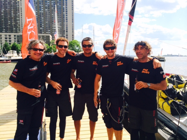 Neutrogena Wins Prologue (Photo courtesy of Ocean Masters NYBCN )