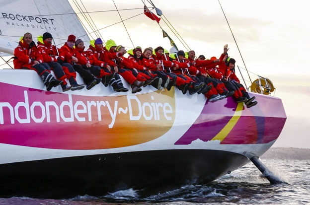 The Clipper Race fleet will now arrive in Derry-Londonderry, Northern Ireland from 23-24 June.
