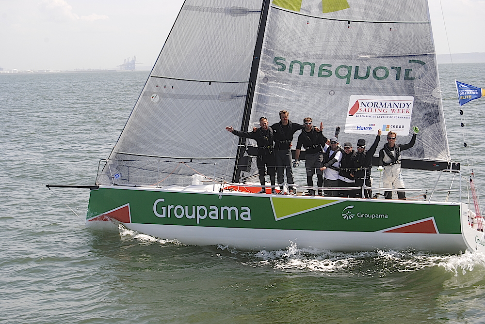 Groupama M34 Win Normandy Offshore