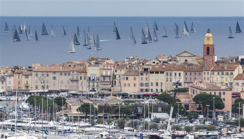 Saint-Tropez bids farewell to the 62nd Giraglia Rolex Cup fleet Gulf of Saint Tropez (Photo  by Rolex/Carlo Borlenghi)
