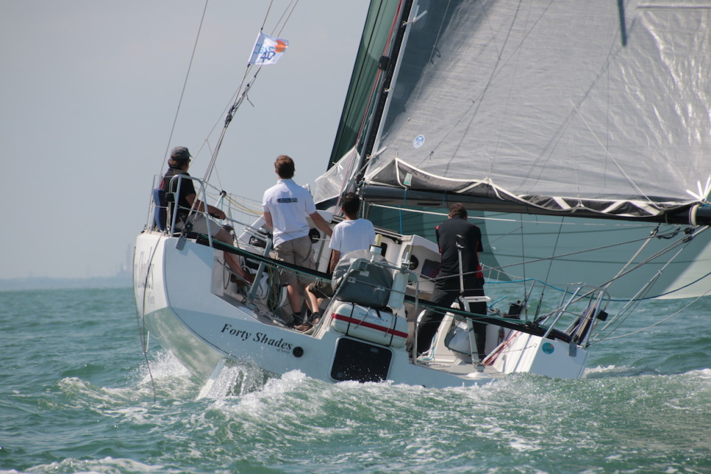 J.P.Morgan Asset Management Round the Island Race (Photo by Barry James Wilson)