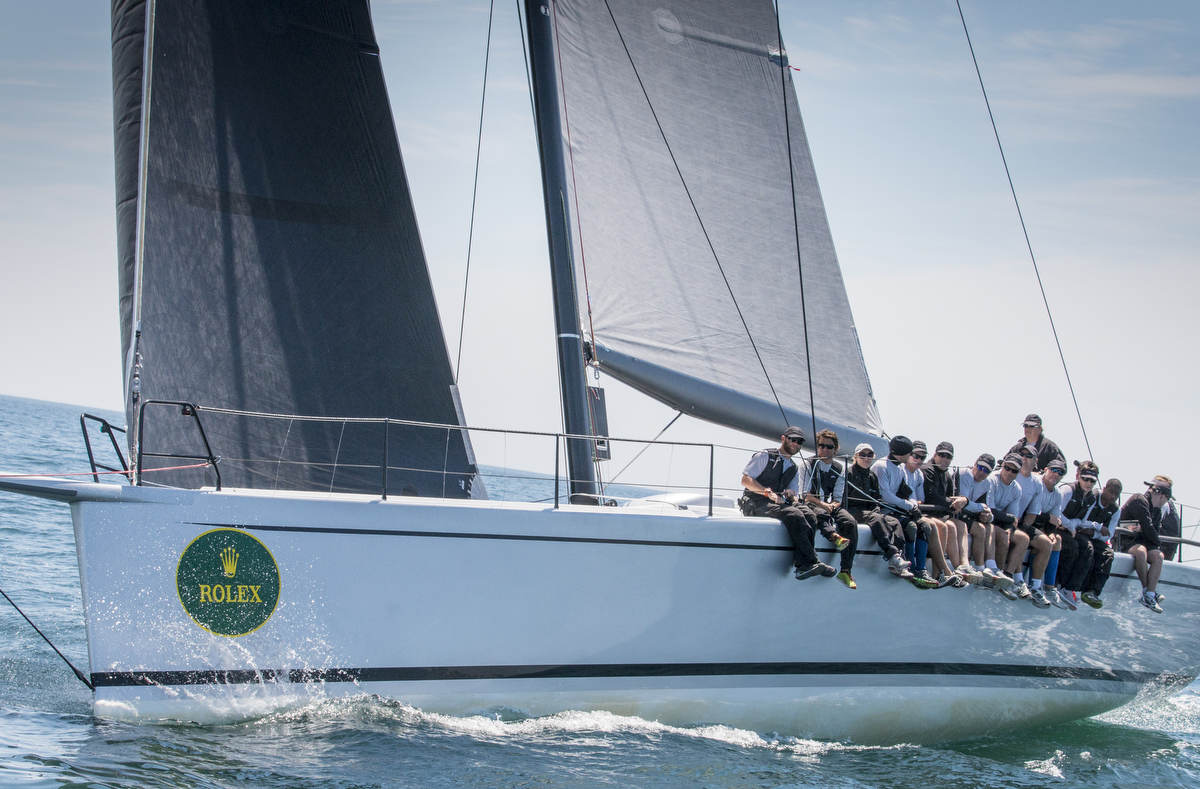 160TH NEW YORK YACHT CLUB CAOL ILA R, Sail Number: USA 66069, Owner/Skipper: Alex Schaerer, Class: IRC 1, Yacht Type: Mini Maxi, Home Port: Newport,  RI,  US