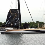 Maxi Trimaran Spindrift 2 weather window closed and they will head back to France