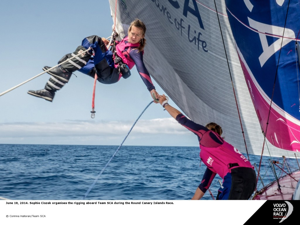 Sophie Chszek (Photo by Corinna Halloran/ Team SCA)