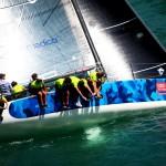 Tomasini Grinover takes the lead in the Melges 32 European Championship