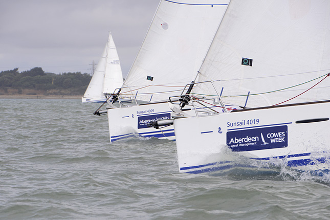 Cowes Week Day 1 Results  (Photo by Rick Tomlinson)