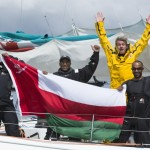Sidney Gavignet and The Crew of Musandam Break Sevenstar Round Britain and Ireland Record