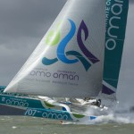 Musandam-Oman Sail on course for Sevenstar Round Britain and Ireland record after supersonic first night at sea