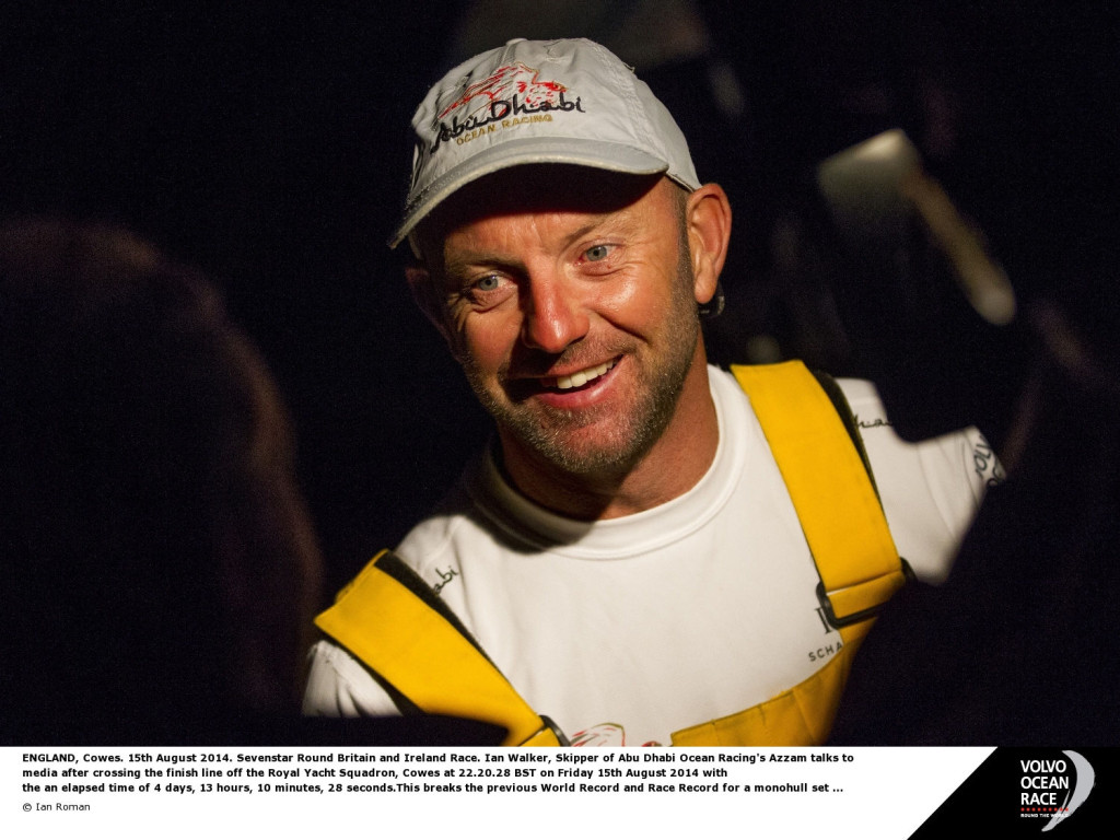 Ian Roman  (Photo Justin Chisholm/Abu Dhabi Ocean Racing )
