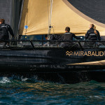 Dona Bertarelli helms Ladycat powered by Spindrift to third place finish in 2014 Vulcain Trophy