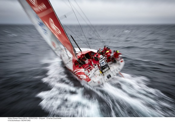 Team Dongfeng (Photo by © Benoit Stichelbaut / Dongfeng Race Team)