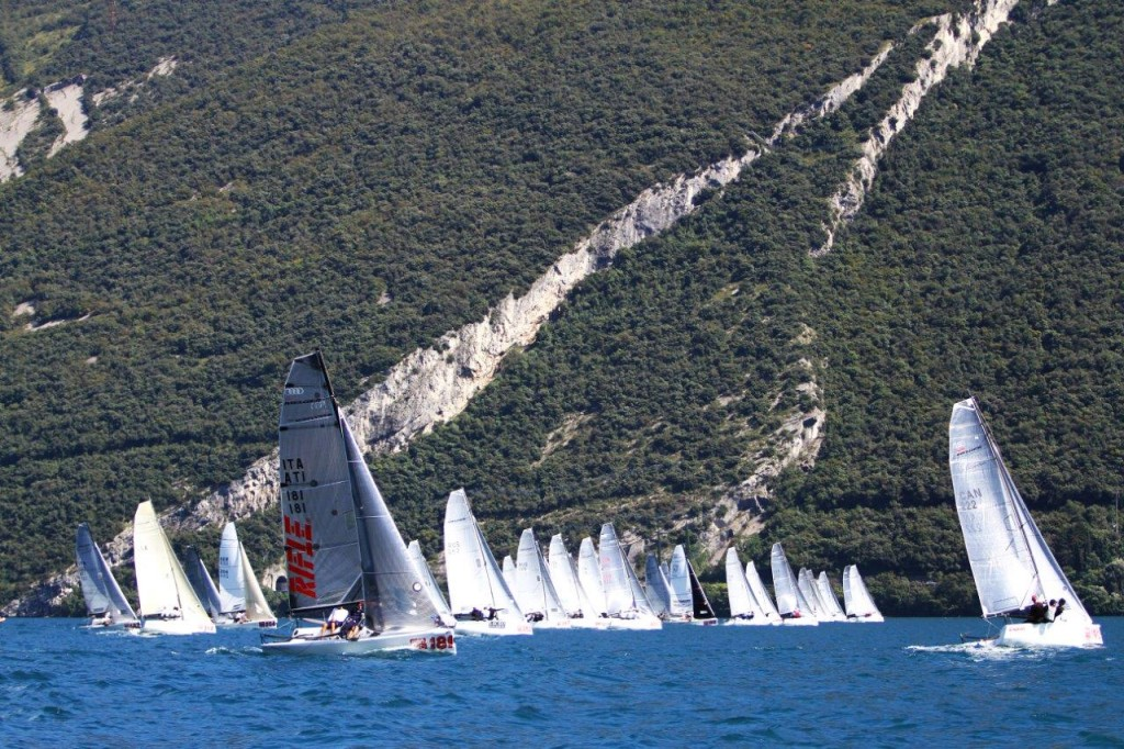 Audi Melges 20 Worlds Racing (Photo by ax Ranchi www.maxranchi.com