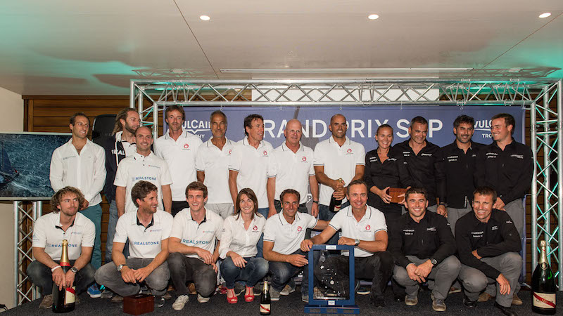 GENEVA, SEPTEMBER 20th 2014: Vulcain Trophy 2014 prizes ceremony  (Photo © Chris Schmid / Spindrift racing).