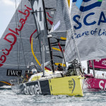 Volvo Ocean Race 2014-15 Leg 1 begins and Team Brunel leads fleet out of Alicante