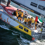 Ian Walker and Abu Dhabi Ocean Racing Win Leg 1 of the Volvo Ocean Race just beating Dongfeng Race team by minutes