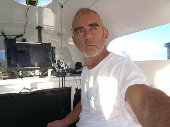Loick Peyron Route du Rhum 2014