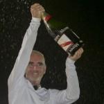 Loick Peyron on Maxi Solo Banque Populaire VII Wins La Route Du Rhum-Destination Guadeloupe 2014 In Record Time