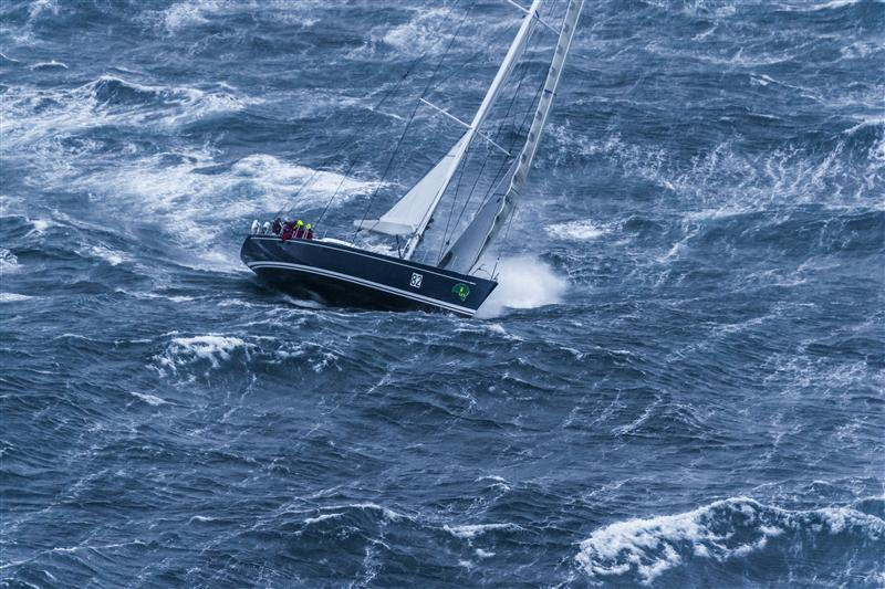 NIKATA  in heavy seas (Photo by Rolex/Carlo Borlenghi)