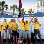 Leg 1 to Cape Town Finish Times for the Volvo Ocean Race 2014-15